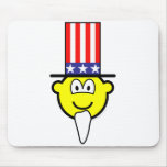 Uncle buddy icon Join the buddy icons, Now!  mousepad