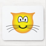 Cat emoticon   mousepad