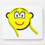 Virgo buddy icon Zodiac sign  mousepad
