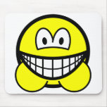 Hamster smile   mousepad