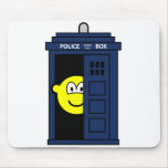 Dr Who buddy icon Tardis  mousepad