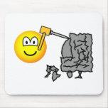 Sculptor emoticon   mousepad