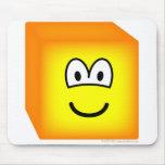 Cube emoticon   mousepad