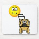 Guide dog emoticon   mousepad