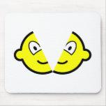 Split buddy icon   mousepad