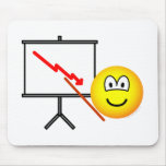 Presenting emoticon bad news  mousepad