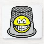 Thimble smile   mousepad