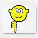 Thumb down buddy icon   mousepad