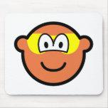 Sunburned buddy icon   mousepad