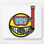 Snorkel smile   mousepad
