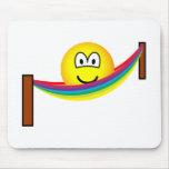 Hammock emoticon   mousepad