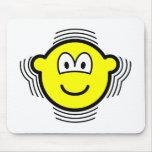 Shaking buddy icon   mousepad