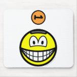 Piggy bank smile   mousepad