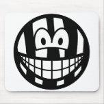 Zebra smile   mousepad