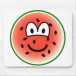Watermelon emoticon   mousepad