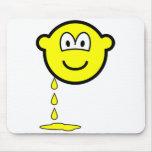 Leaking buddy icon   mousepad