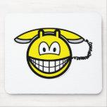 Telephone smile   mousepad