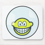 Smile living in a bubble   mousepad