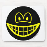 Inverted smile   mousepad