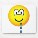 Drool emoticon   mousepad