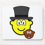 Groundhog day buddy icon   mousepad