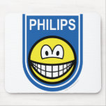 Philips smile Let's make things smile  mousepad
