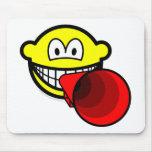 Megaphone smile old  mousepad