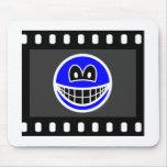 Film negative smile   mousepad