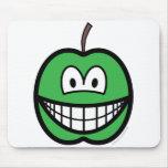 Apple smile   mousepad