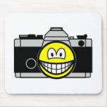 Camera smile   mousepad
