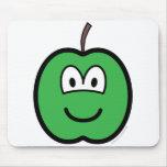 Apple buddy icon   mousepad