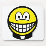 Clerical smile   mousepad