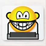 Treadmill emoticon   mousepad