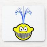 Whale buddy icon   mousepad