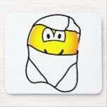 New born emoticon   mousepad