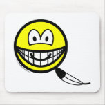 Tickled smile   mousepad