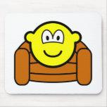 Armchair buddy icon   mousepad