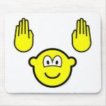 Handsup buddy icon   mousepad