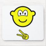 Scissors buddy icon rock - paper - scissors  mousepad