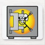 Safe emoticon   mousepad