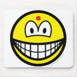 Hindu smile   mousepad