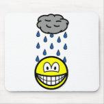 Depressed smile   mousepad