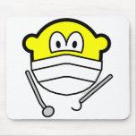 Dentist buddy icon   mousepad