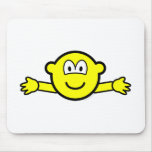 Hug buddy icon   mousepad