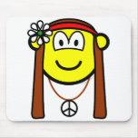 Hippie buddy icon   mousepad