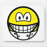 Diaper smile   mousepad