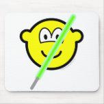 Light saber buddy icon   mousepad