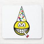 Party smile   mousepad