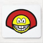 Dracula smile   mousepad