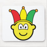 Joker/Carnival buddy icon   mousepad